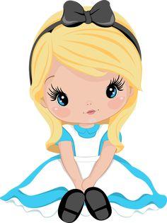Disney Princess Babies, Disney Princess Cartoons, Cute Disney Drawings, Cute Drawings, Cute Frozen, Alice In Wonderland Tea Party Birthday, Chibi, Pop Art Drawing, Baby Clip Art