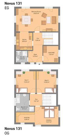 Spektral-Haus Novus 131 All unsere Häuser sind individuell planbar und auch optional mit Keller möglich.