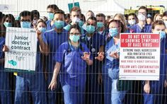Junior doctors won't admit it, but their strike helps the Brexit cause