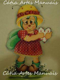 Pintura em estilo Country http://www.catiaartesmanuais.com/
