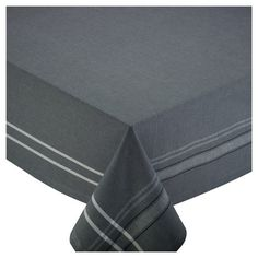 Gray French Chambray Tablecloth<br>Protect and dress up any table with this beautiful tablecloth that will be used for years to come.<br><br>Design Imports tablecloths are the perfect items to decorate your table with for any occasion. Enjoy holiday entertaining, parties, gatherings, birthdays, special occasions, everyday meals and more. These tablecloths are a must have if you are looking to make an impression with all of your guests. All of our tablecloths are 100% cotton,...