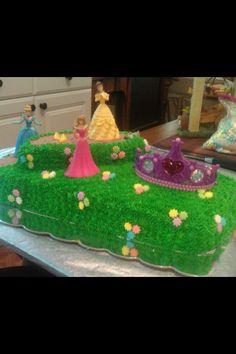 Princess cake I did for a birthday