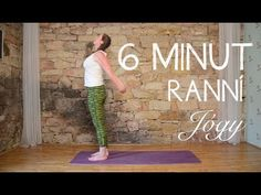6 minut RANNÍ JÓGY - YouTube Thigh Exercises, Muffin Top, Yoga Videos, Reiki, Diabetes, Health Fitness, Body Fitness, Thighs, Workout