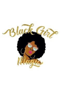 'Black Girl Magic Graphic' Poster by monarchvisual Art Black Love, Black Girl Art, Black Girls Rock, Black Is Beautiful, Black Girl Magic, Art Girl, African American Art, African Art, African Theme