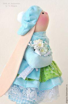 Купить Текстильная игрушка Зайка Лея - зайка, зайцы, заяц, заяц игрушка, игрушка зайка