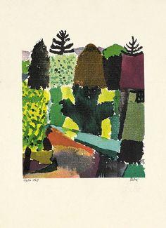 1920 PARK, Paul Klee (Swiss-German, 1879~1940)