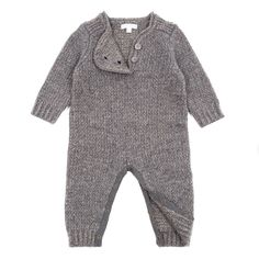 Sweater onesie for winter trips to great aunties
