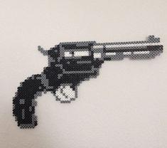 Revolver -- perler beads