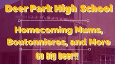 Deer Park Homecoming | Mums, Boutonnieres, Flowers | Deer Park, TX