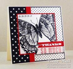 Stampin Up Swallowtail Stamp