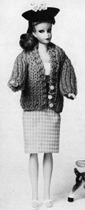Bulky Cardigan | No. 786 | Doll Clothes Pattern | Free Knitting Patterns