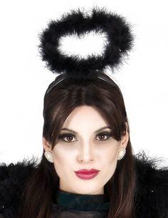 Heiligenschein Engel Kostümzubehör schwarz , günstige Faschings Accessoires & Zubehör bei Karneval Megastore, der größte Karneval und Faschings Kostüm- und Partyartikel Online Shop Europas!