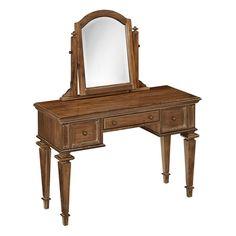 Home Styles Americana Vintage 2-piece Vanity & Mirror Set, Multicolor
