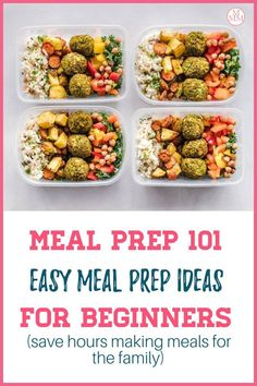 "If you are looking to save time, money, and stress at dinnertime, then you've got to learn how to meal prep. This Meal Prep 101: Easy Meal Prep For Beginners guide will show you everything you need to know including ideas to get started like health meal prep breakfast, lunch, and dinner recipes ideas that are easy to prep for the week or month so you never have to wonder ""what's for dinner"" again! #mealprep #easymealprep #mealplan Weight Loss Meals, Diet Plans To Lose Weight, How To Lose Weight Fast, Losing Weight, Low Carb Diet Plan, Healthy Diet Plans, Healthy Eating, Easy Meal Prep, Easy Meals"