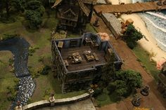 D&D Map by Ryan Devoto