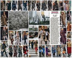 Loved Bill Cunningham's take on NY fashion during the October snowstorm. Thanks Jen@countryweekend blog for sharing.
