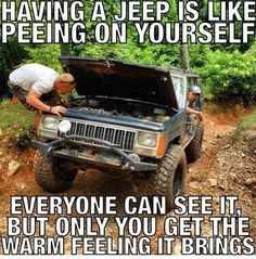 Jeep Xj Mods, Jeep Wj, Jeep Truck, Jeep Jokes, Jeep Humor, Car Jokes, Hot Rods, Truck Memes, Truck Quotes