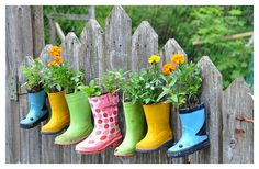 COLORFUL & CLEVER reuse for rainboots!