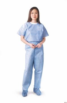 NON27213L  Disposable Scrub PantsBlueLarge ** You can get more details by clicking on the image. (This is an affiliate link)