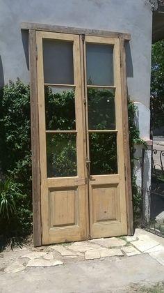 puerta antigua reciclada
