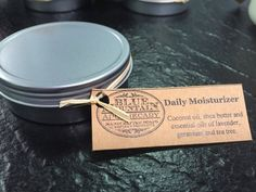 Daily Moisturizer by Blue Mountain by bluemntapothecary on Etsy All Natural Skin Care, Lavender Oil, Blue Mountain, Skin Problems, Tea Tree, Make And Sell, Apothecary, Shea Butter, Moisturizer