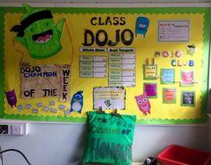 Rachel Esilrac Class dojo display Scottish Primary Teachers FB group