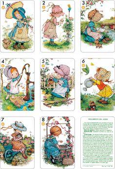 Holly Hobbie, Vintage Cards, Vintage Images, Coloring Books, Coloring Pages, Decoupage Vintage, Cute Illustration, Vintage Children, Paper Dolls