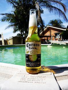 summer beer: corona
