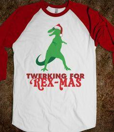 Rex-Mas #Santa #Twerk #Dinosaur #Trex #TyrannosaurusRex
