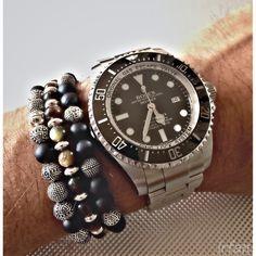 ebf5a655629 Rolex Sea Dweller Deepsea   Thomas Sabo bracelets