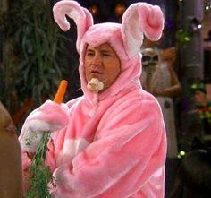 Chandler conejo rosa