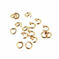 Stainless Steel Jump Rings 15mm Open 12 Gauge Braided Texture 20 Rings J180 In 2020 Jewelry Making Jump Rings Jewelry Making Project