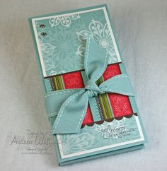 Holiday Blitz Day 2: Hot Cocoa & Gift Card Holder Tutorial & the winner! :: Andrea Walford - An {art}ful life & business