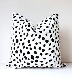 Polka Dots Modern Decorative Designer Pillow von WhitlockandCo, $40.00