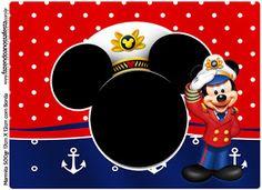 Mickey Marinero: Etiquetas para Candy Bar para Imprimir Gratis. Blogger Templates, Party Printables, Mickey Mouse, Disney Characters, Fictional Characters, Diy, Free, Club, Free Printable