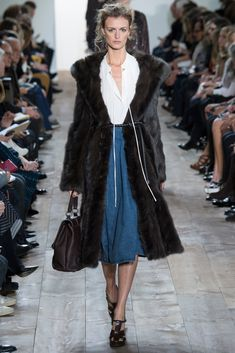 Michael Kors Collection Fall 2014 Ready-to-Wear Fashion Show - Jacquetta Wheeler