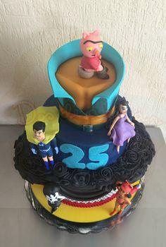 La casa de los dibujos drawn together cake