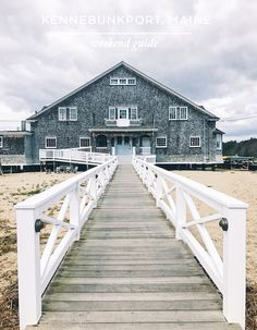 Travel Guide: A Weekend in Kennebunkport, Maine — Abby Capalbo Beach Honeymoon Destinations, Vacation Places, Vacation Spots, Travel Destinations, Vacation Ideas, Honeymoon Ideas, Vacation Travel, Dream Vacations, Kennebunkport Maine