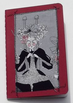 Witchy Knitter Journal On Sale by marylandquilter on Etsy, $11.00