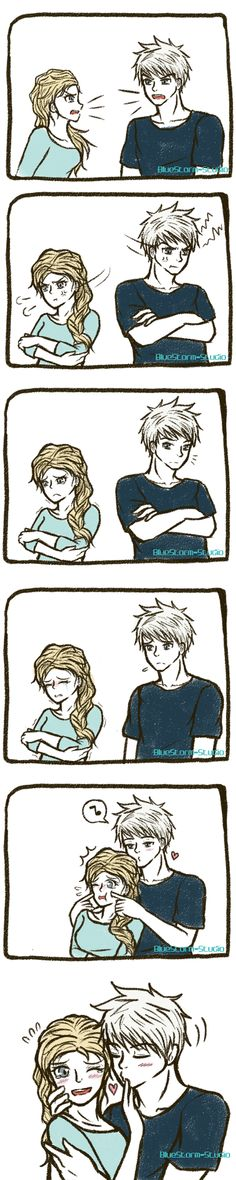 Jelsa: Forgive and Forget by BlueStorm-Studio.deviantart.com on @deviantART
