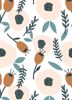 Ansichtkaart Herfstbloemen €1,20 #ansichtkaart #herfst #bloemen #muchable Textile Pattern Design, Graphic Design Pattern, Surface Pattern Design, Floral Design, Cute Owls Wallpaper, Pattern Wallpaper, Flower Patterns, Print Patterns, Contemporary Artwork