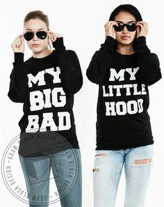 My Big Bad, My Little Hood Long Sleeve by Adam Block Design | Custom Greek Apparel & Sorority Clothes | www.adamblockdesign.com
