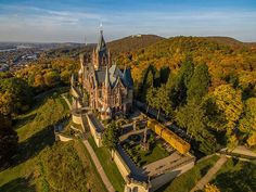 Schloss Drachenburg castelos na alemanha