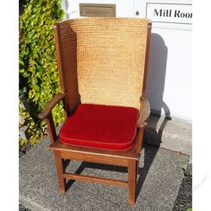 Superb Large Oak Framed Orkney Chair - Antiques Atlas Outdoor Chairs, Outdoor Furniture, Outdoor Decor, Cushions, The Originals, Antiques, Frame, Vintage, Home Decor