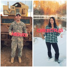 Deployment Christmas card