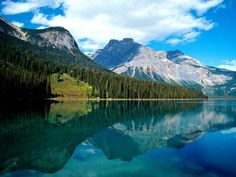 Emerald Lake and the Canadian Rocky Mountains