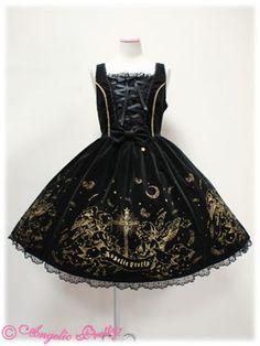 Angelic Pretty - Gloria JSK in Black