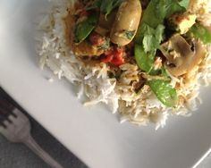 Thai Green Curry Coconut with Chicken Recipe