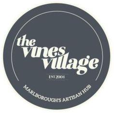 New logo branding from Deflux Design in Christchurch NZ #vinesvillage