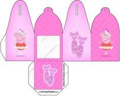 Caixa Peppa Pig Bailarina: